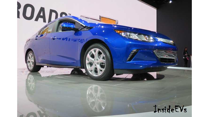 2016 Chevrolet Volt Ordering Guide Now Online - Full Specs, Options Revealed