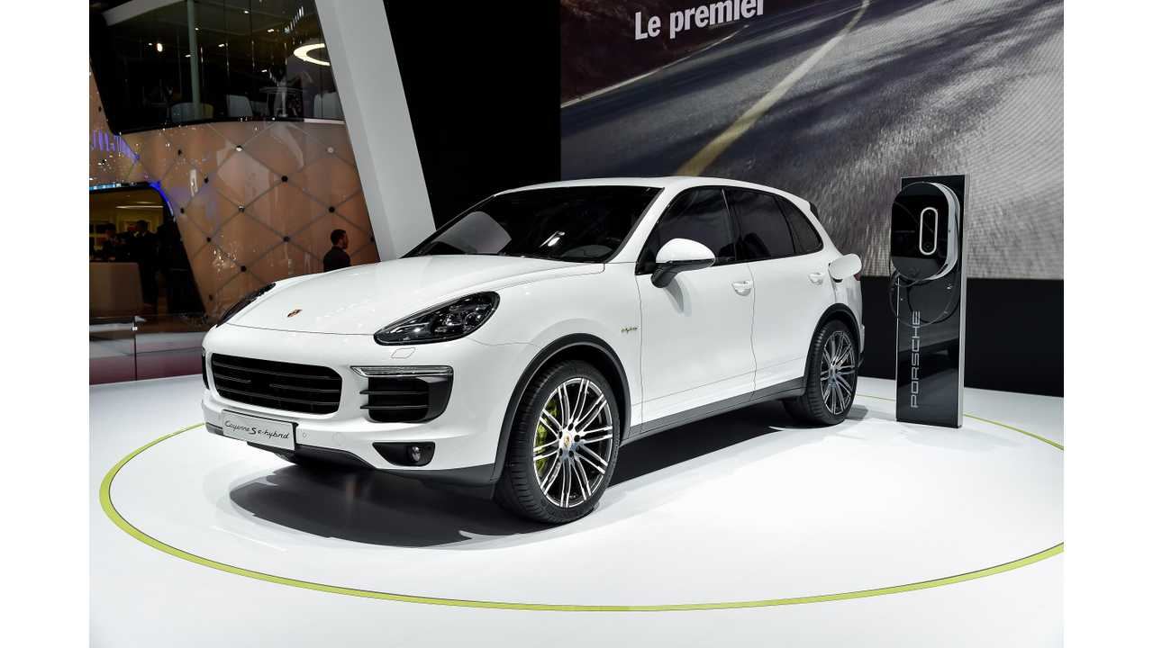 The Only Plug-In To Set A new 12 month high in February Was The Porsche Cayenne S e-Hybrid