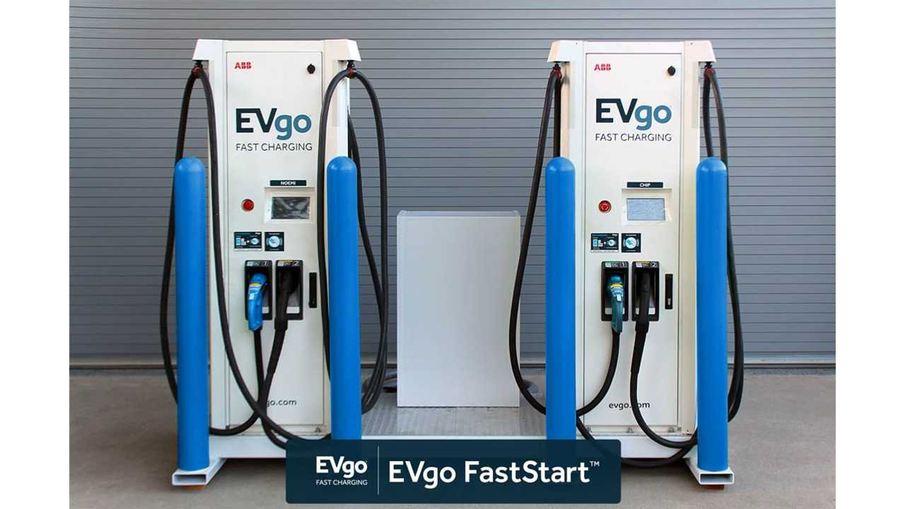 EVgo FastStart Fast Forwards Charging Station Deployment
