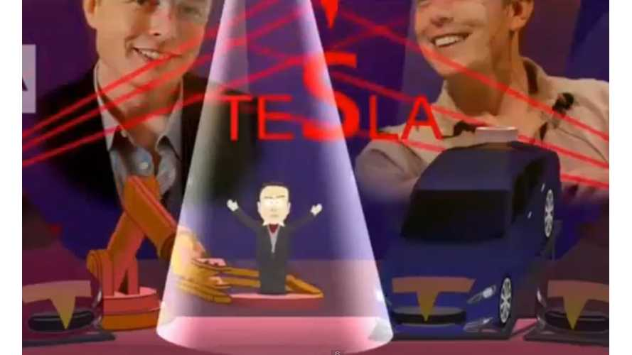 Elon Musk & Tesla D Appear In South Park