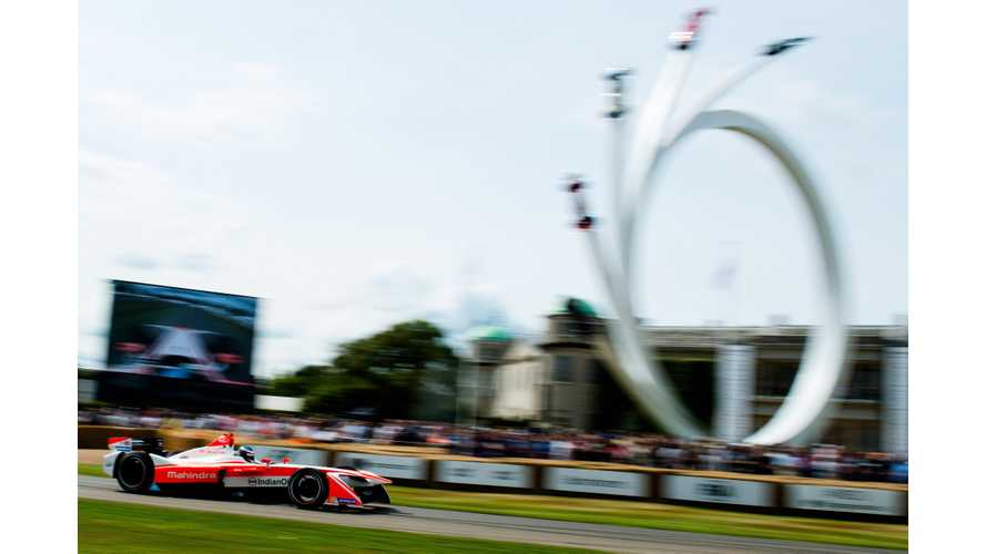 M4Electro Sets New Electric Vehicle Record At Goodwood