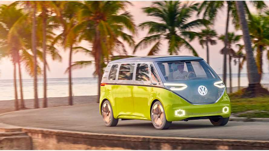Volkswagen Says Electric Microbus Is Coming
