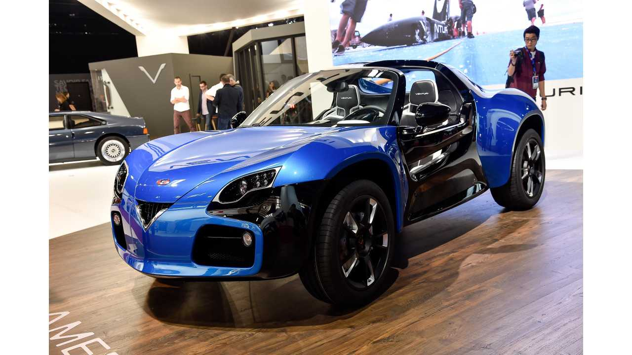 2014 Paris Motor Show: Venturi America Electric Crossover Is Star Of The Show