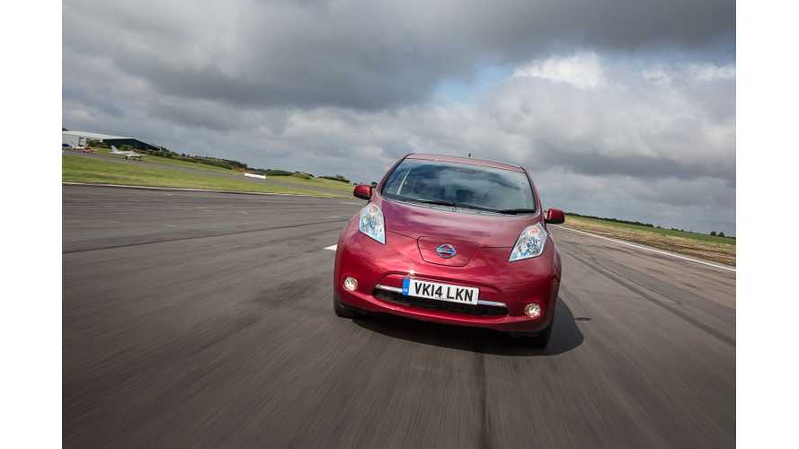 Nissan LEAF Fleet Sales UK - 1,211 Out Of 4,051 Total