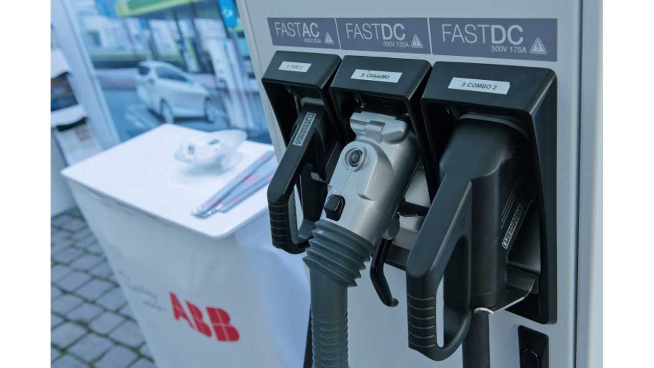 World's First Tesla Supercharger / CCS / CHAdeMO / 43 kW AC Charging Station Discovered