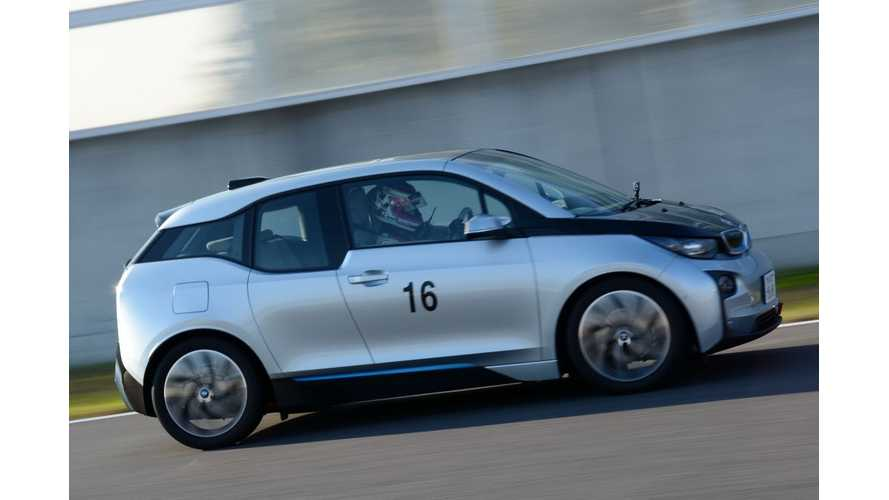 BMW i3 Defeats Nissan LEAF In The Last Round Of 2014 Japan EV-GP