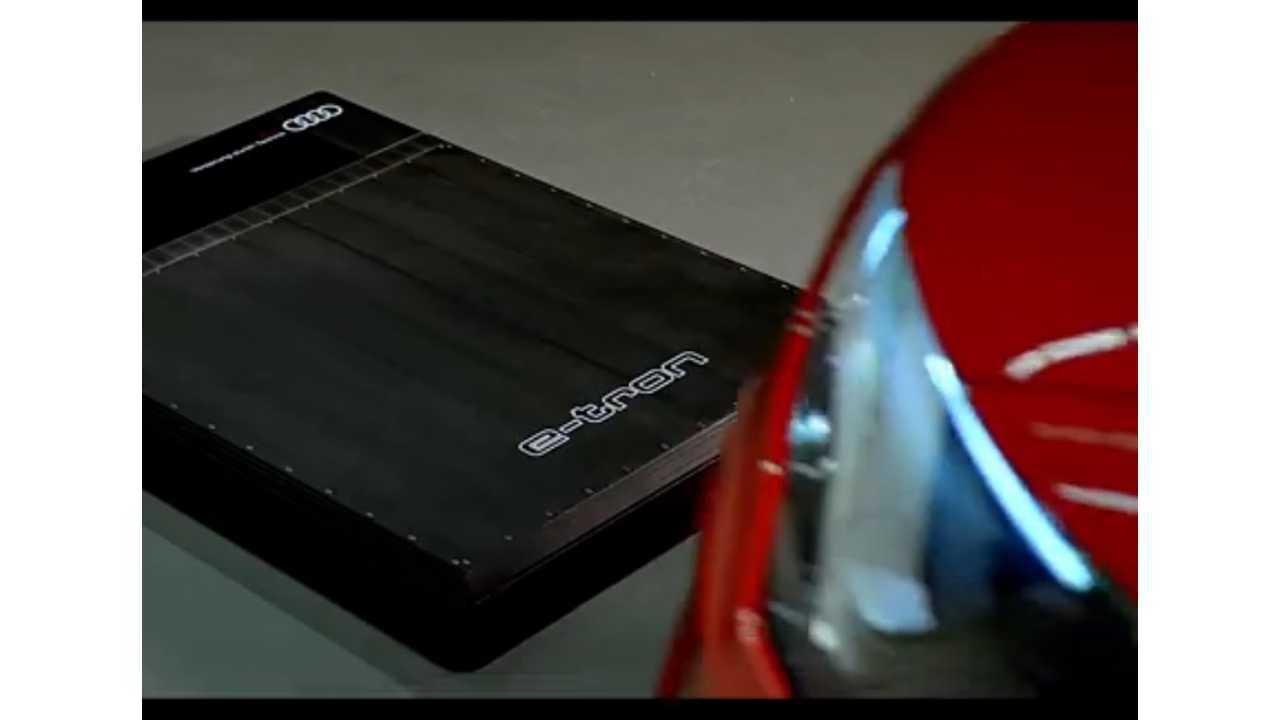 audi e-tron wireless inductive charging
