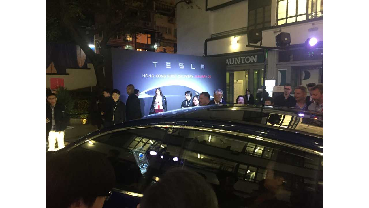 Tesla Model X launch event in Hong Kong in January!