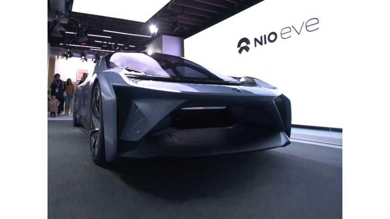 NIO Reveals EVE Autonomous Electric Car - Launch Video & Gallery
