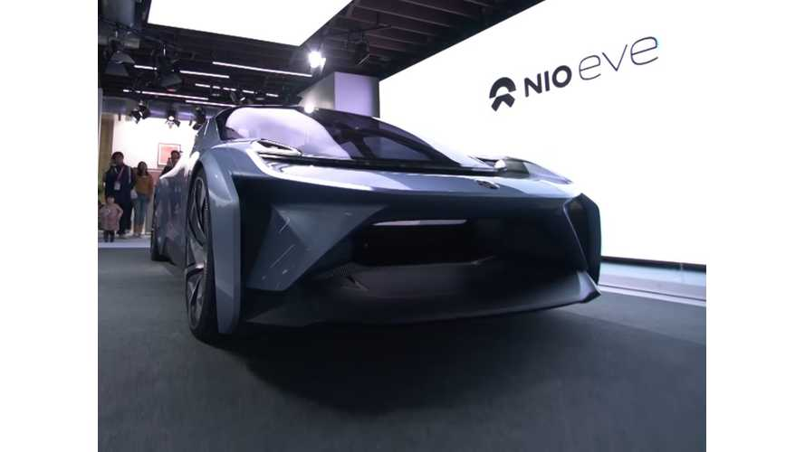 NIO Reveals EVE Autonomous Electric Car - Launch Video & Gallery