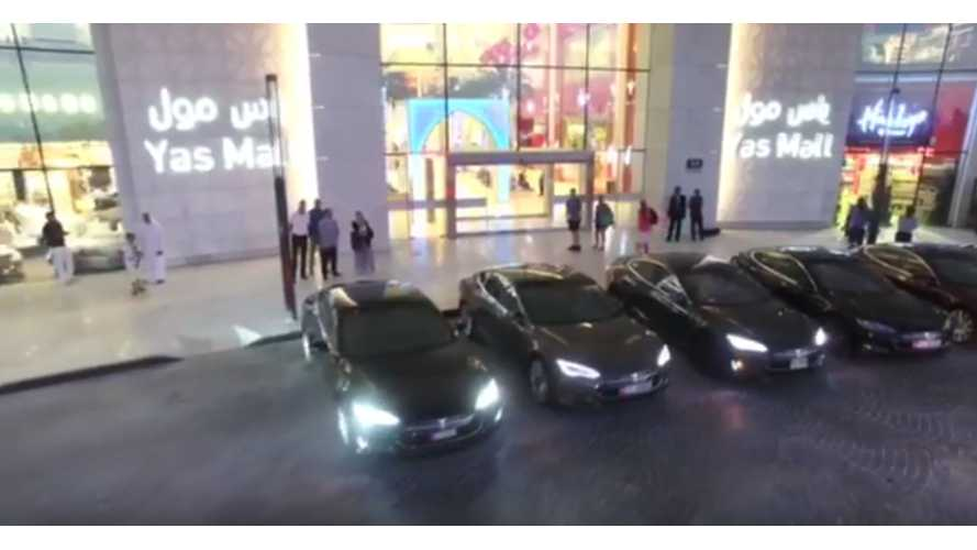 200 (Eventual) Self-Driving Tesla Model S & X Taxis To Hit Roads Of Dubai