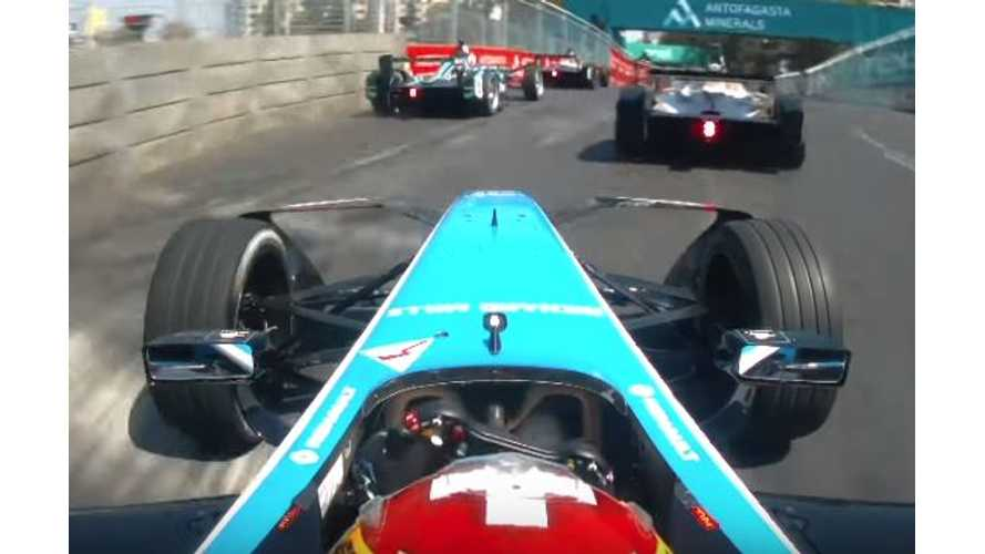 On-Board Compilation Video From Santiago Formula E ePrix