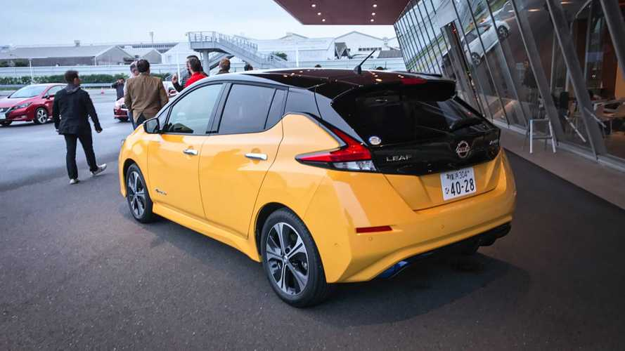 We Drive The 2018 Nissan LEAF In Japan