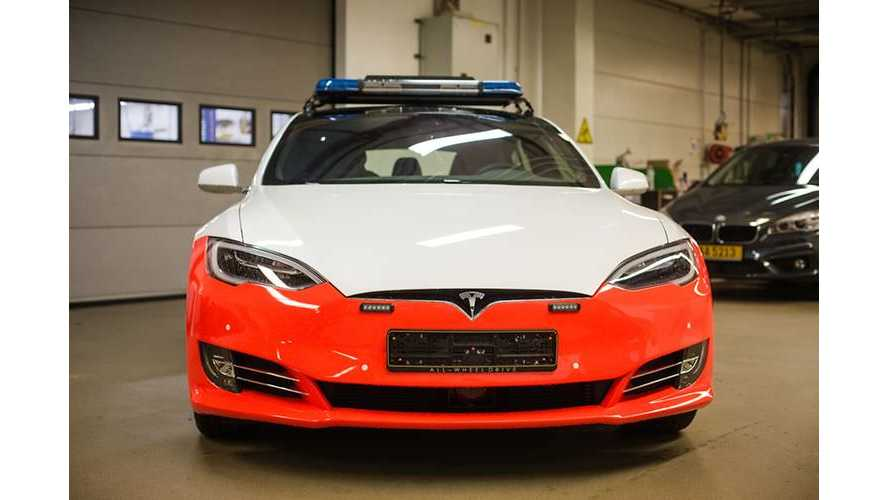 Tesla Model S Police Cars Delayed In Hitting The Road In Luxembourg