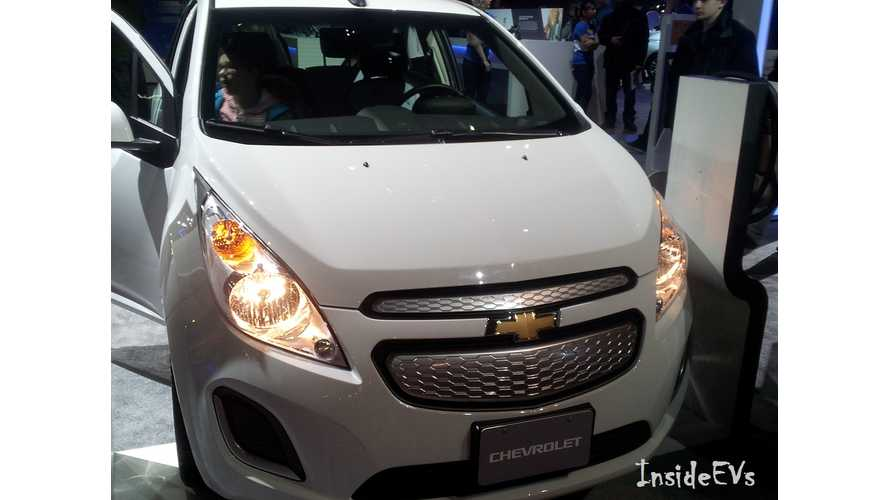 Chevrolet Spark EV Recalled For Airbag Issue