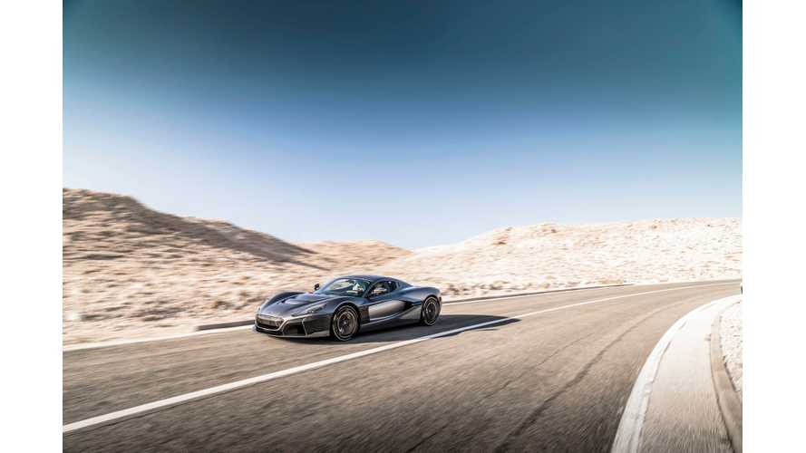 Rimac Joins The Lineup At The Exotics On Cannery Row