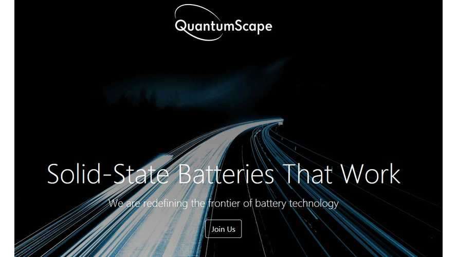 Volkswagen Invests $100 Million In Solid-State Battery Start-Up QuantumScape