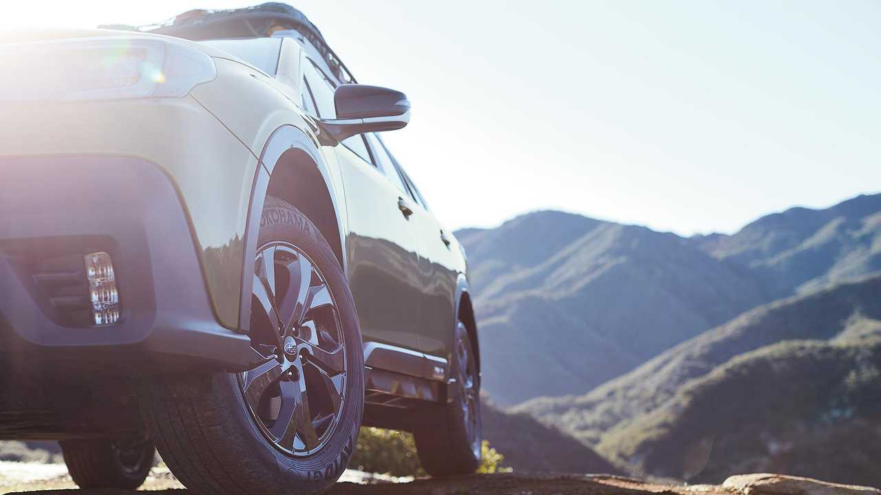 2020 Subaru Outback Teaser