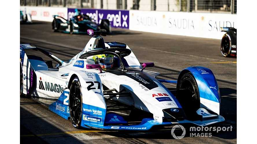 Penalized Sims Claims He Didn't Hit Mortara In Formula E Race