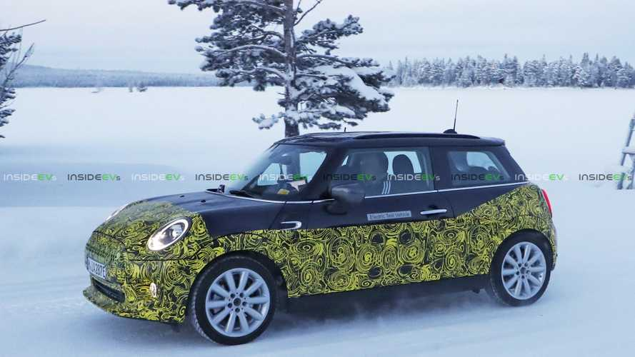 New Mini E Electric Car Spy Shots Surface