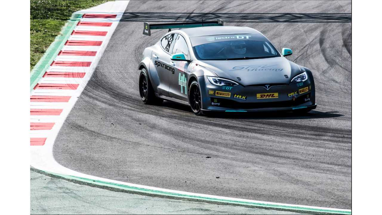 Tesla Model S Will Officially Participate In FIA-Sanctioned Racing Series