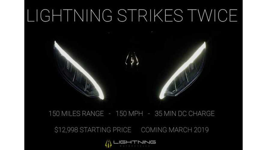 Lightning Teases New Long Range, Low Price Electric Motorcycle