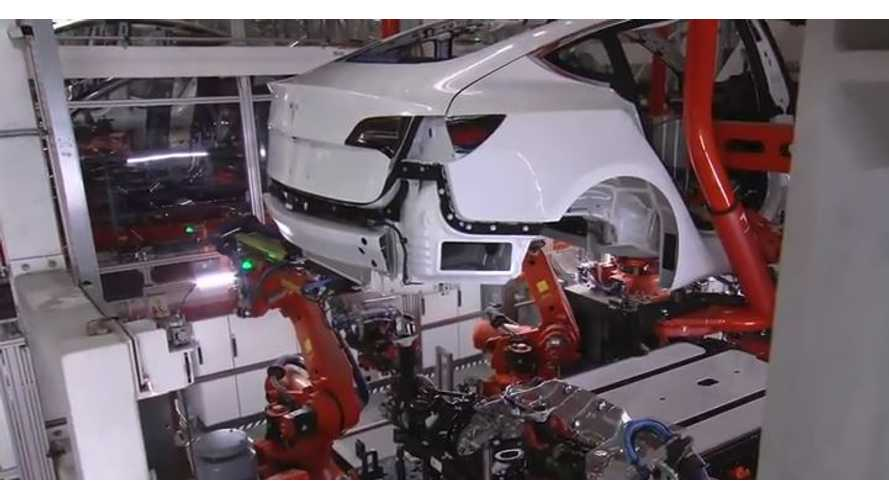 Tesla Halts Model 3 Production For Up To 5 Days To