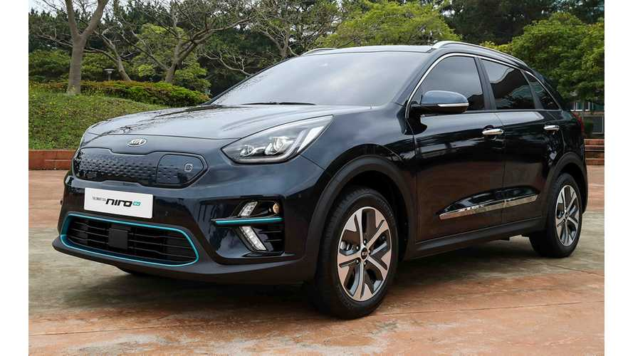 2019 Kia Niro EV Now Displayed On U.S. Kia Site