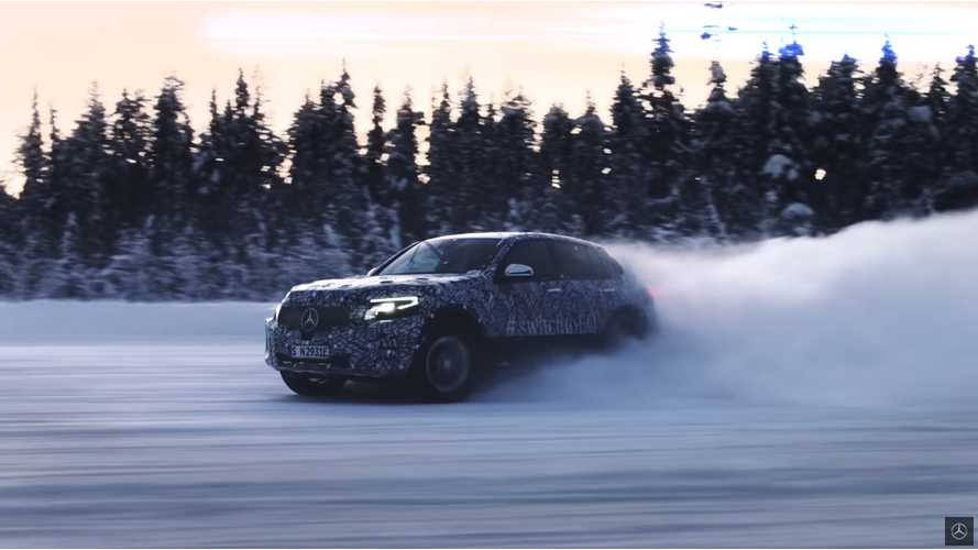 Mercedes Teases EQC Under Extreme Conditions, Shows Off Battery