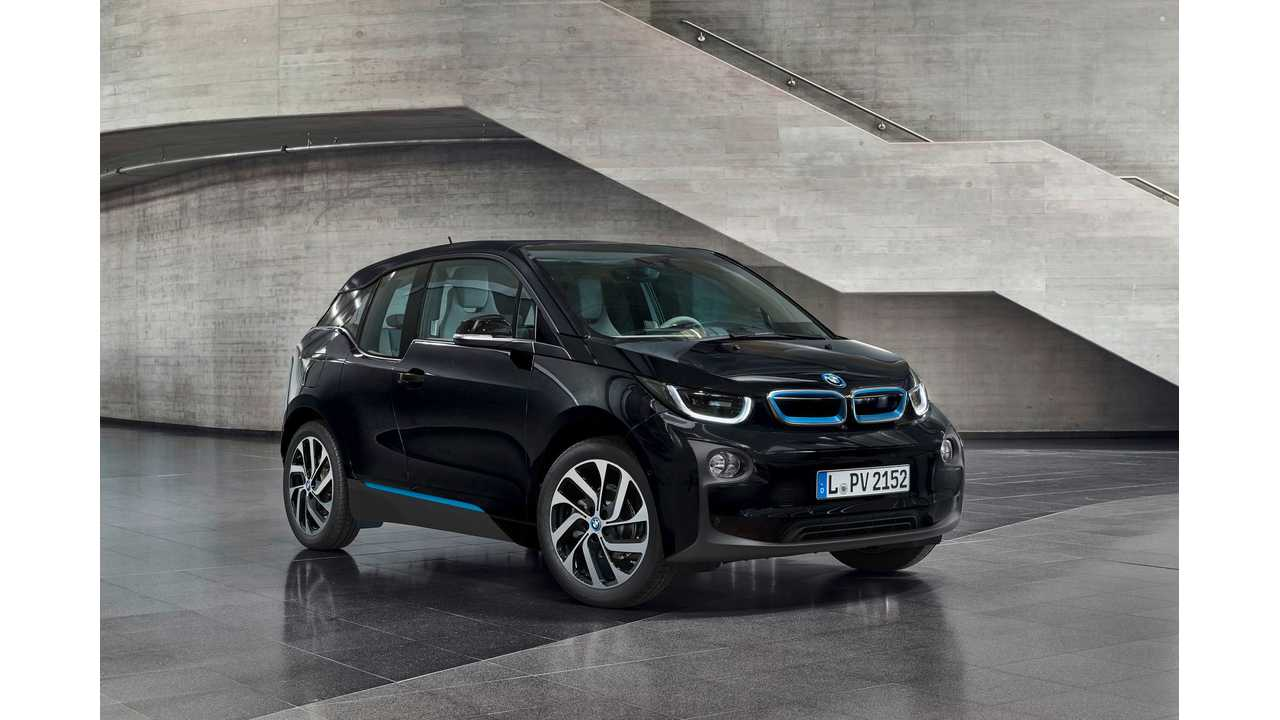BMW i3 Gets New Fluid Black Color
