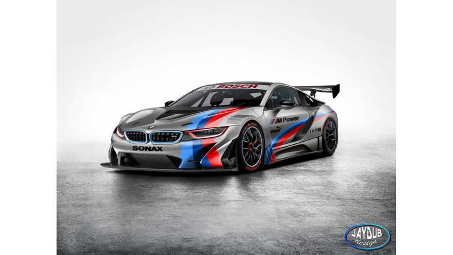 BMW i8 GT3 Rendered