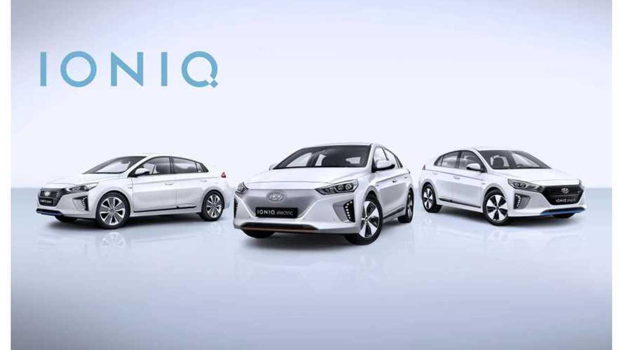 Hyundai IONIQ Electric Sales Catching Up With IONIQ Hybrid