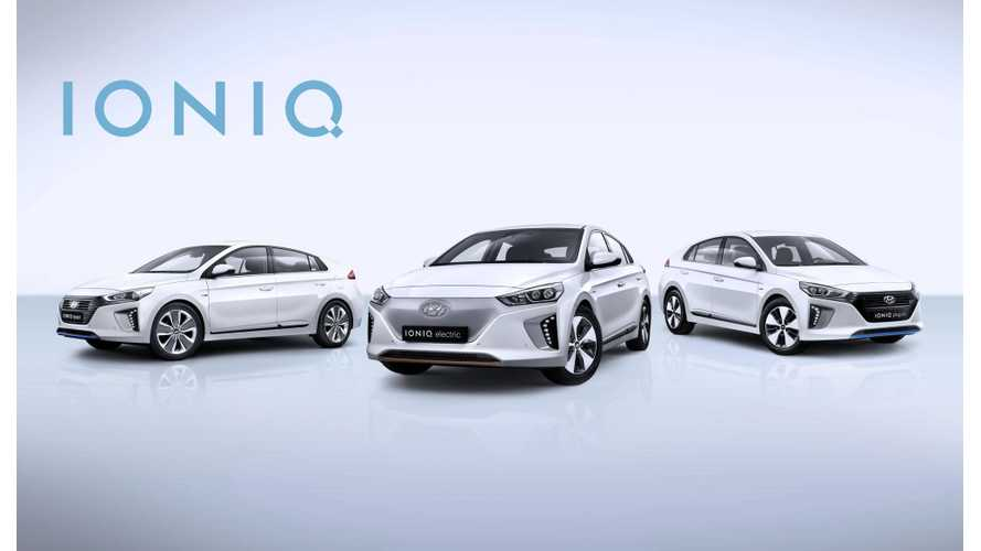 Hyundai IONIQ Electric Sales Catching Up With IONIQ Hybrid