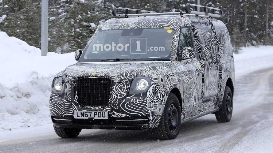 Van Version Of Range-Extended Taxi Spied
