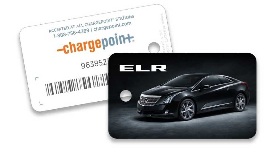 Buy A Cadillac ELR, Get A Free ChargePoint Card - Charging Fees Still Apply
