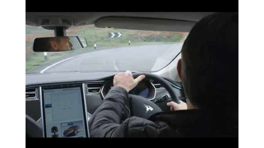 Tesla Model S Right Hand Drive - Video