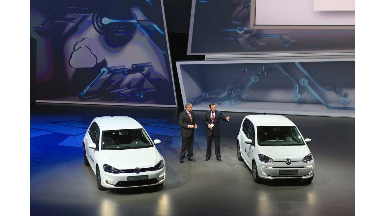Volkswagen And Mitsubishi Dominated Germany Plug-In Market In May 2014