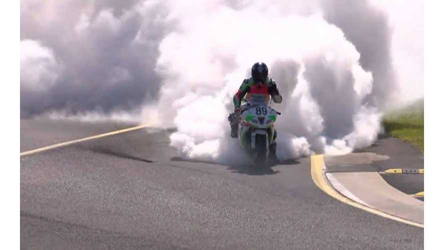 Voltron Takes First (Place) in Last (Race), Makes Many Smokes (video)