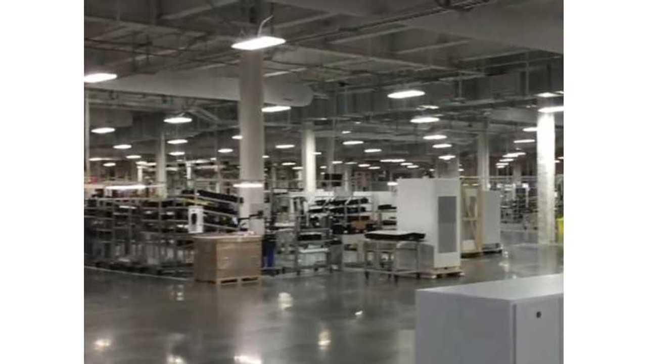 First Look Inside Tesla Gigafactory - Video
