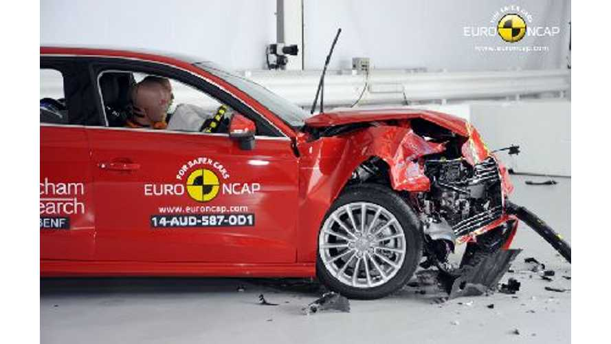 Audi A3 E-Tron Gets 5-Star Euro NCAP Safety Rating
