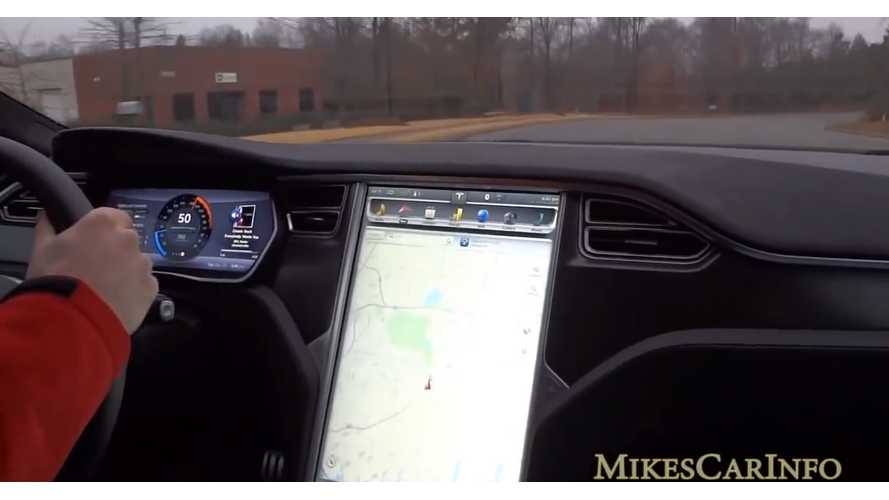 Tesla Model S P85D: Acceleration, Insane Launch, Overall Tour - Video