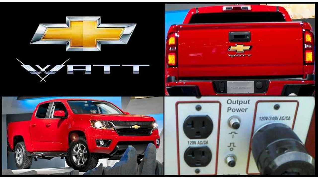 Chevy Watt: The Dreamy Volt-Powered Plug-In Hybrid Pickup Truck