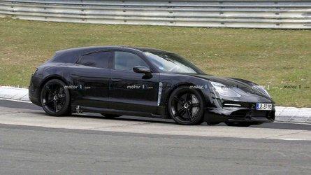 Porsche Taycan Cross Turismo Spied As Future Electric Wagon