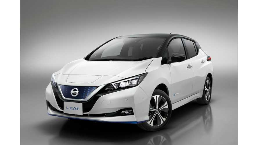 Nissan LEAF Sales Begin Upward Rise In U.S. In March 2019