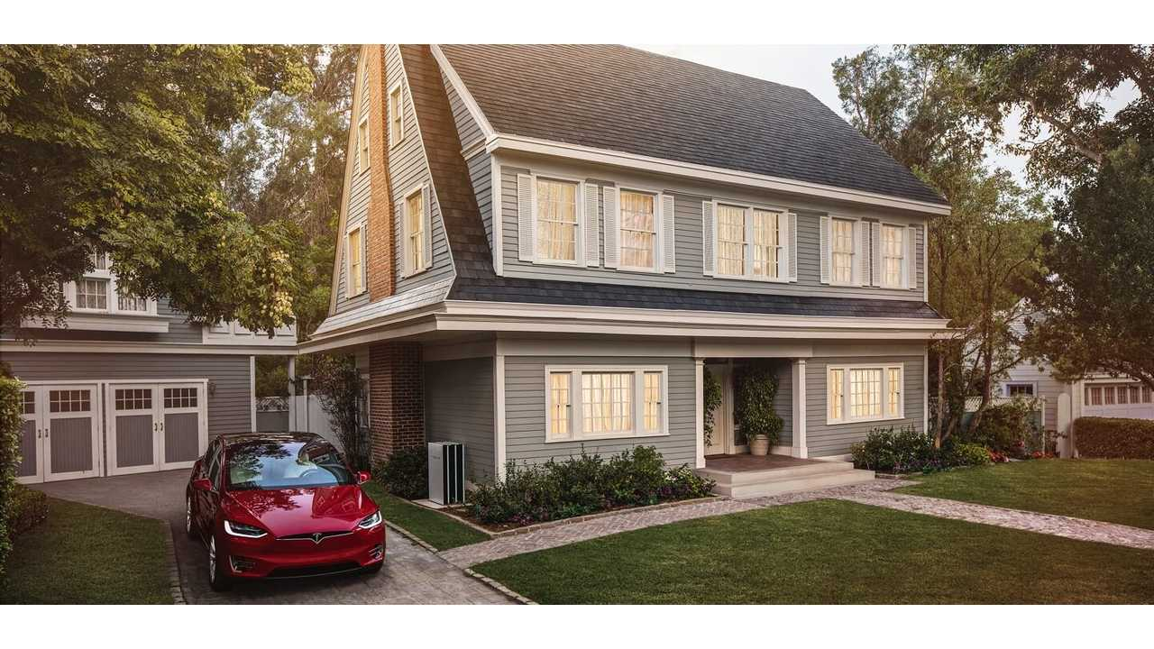 Tesla's Patented Solar Roof Revealed In These Sketches