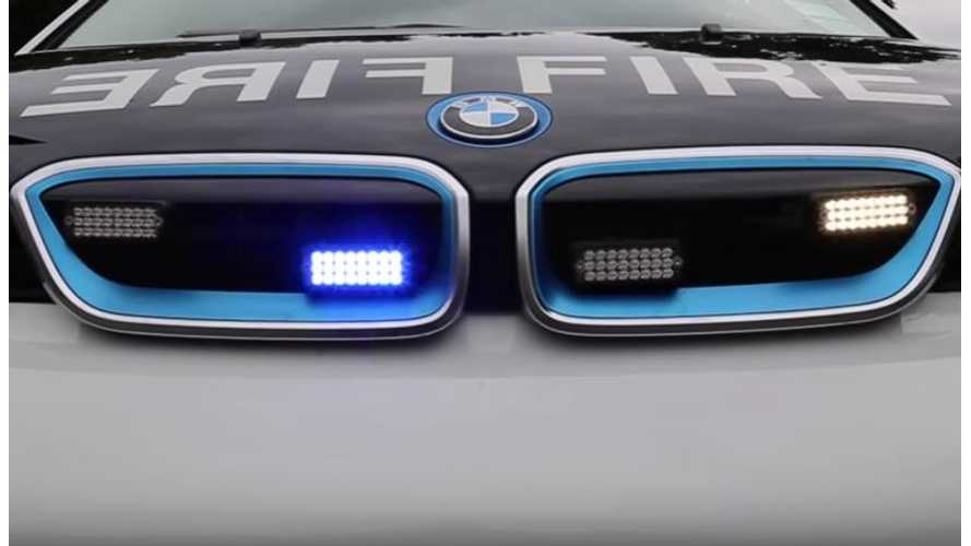 London Fire Brigade Adds 60 BMW i3s To Fleet - Video