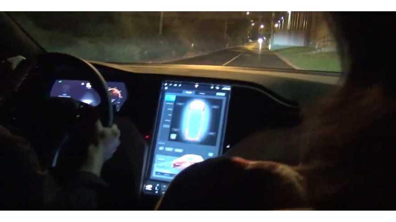 Tesla Model X P90D Ludicrous Mode test drive