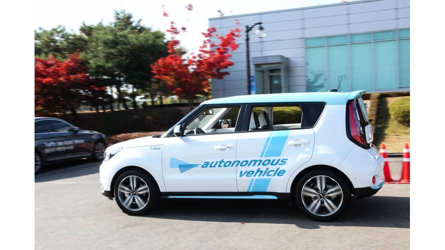 Kia To Test Autonomous Soul EV In Nevada