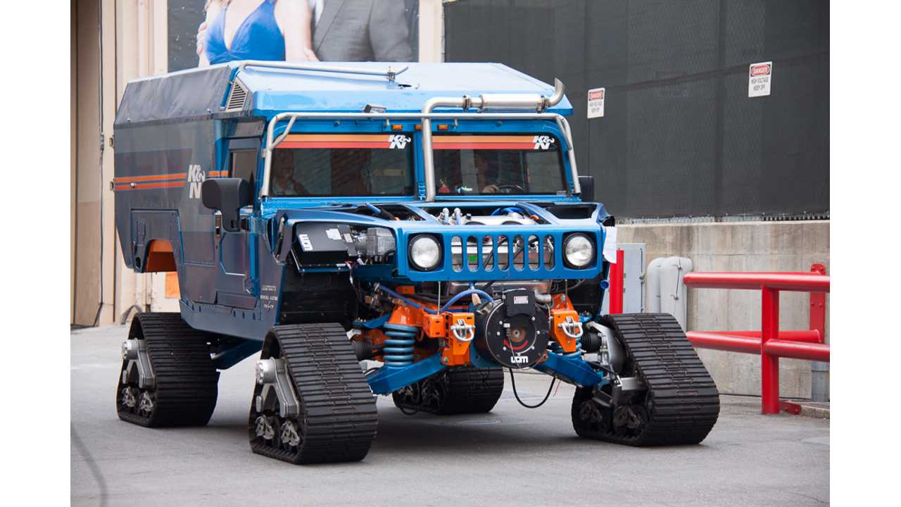 Zero South Plug-In Hybrid Hummers Headed For South Pole