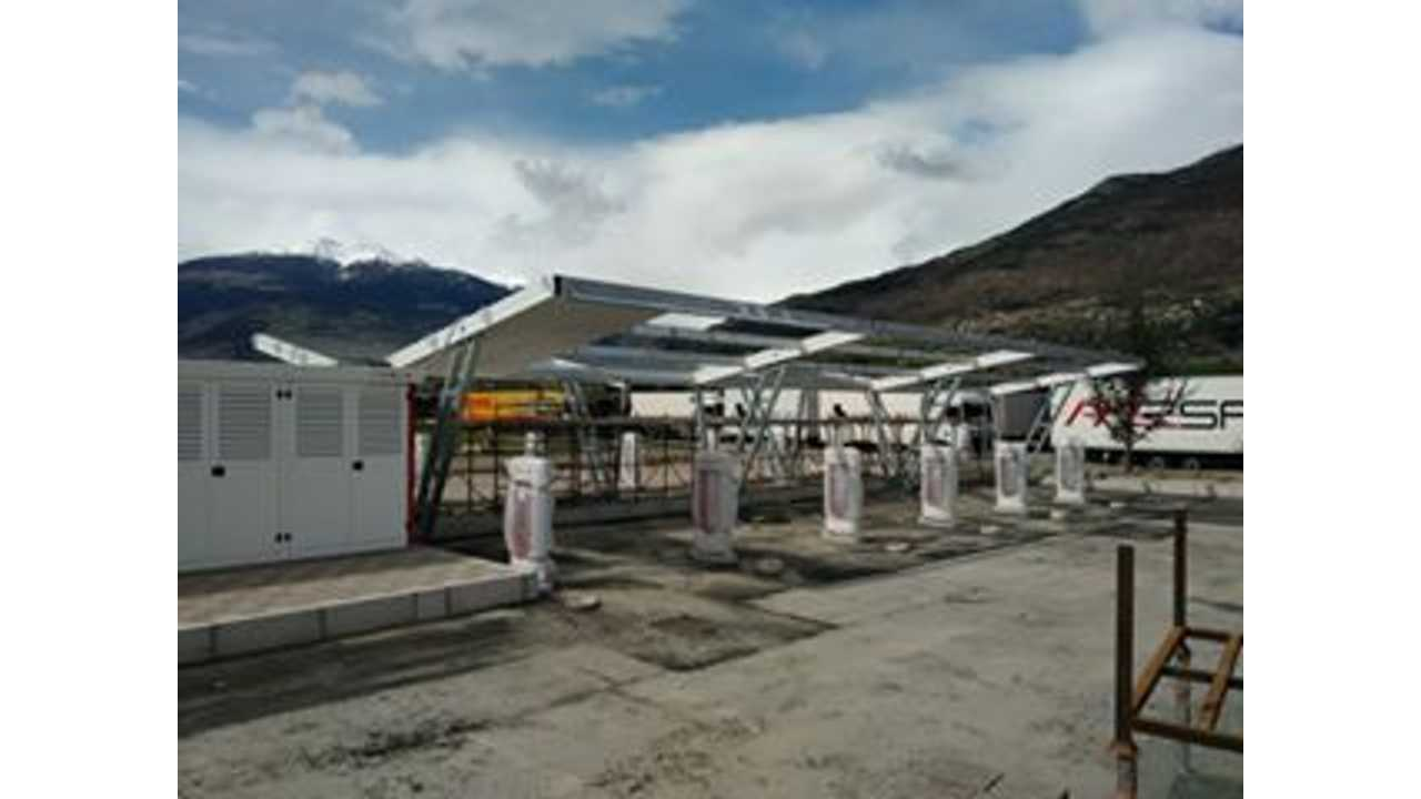 Tesla Superchargers in Valle d'Aosta